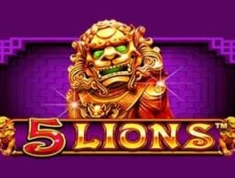 Play For Free: 5 Lions Slot