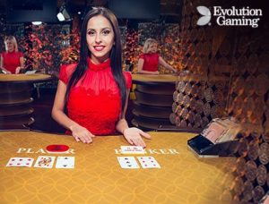 Evolution Live Baccarat Squeeze