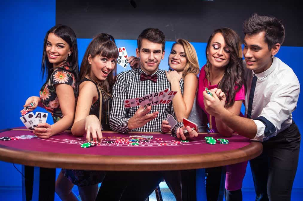 Evolution Gaming Live Blackjack Party