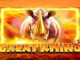 Play For Free: Great Rhino Slot