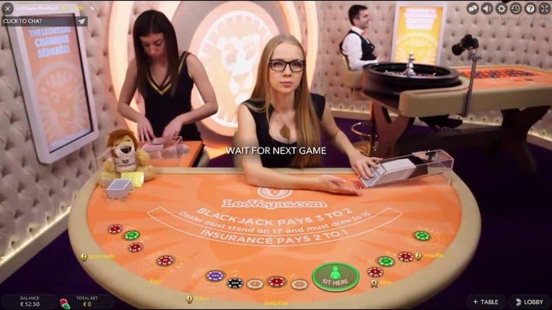 Image of Live Online Dealer Casino
