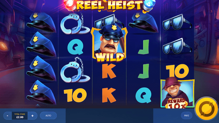 reel heist red tiger