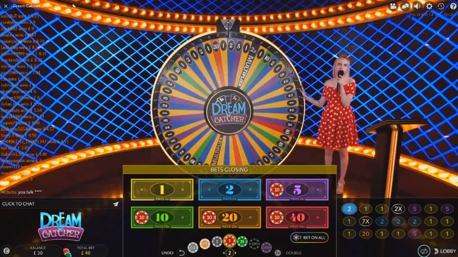 Image of Layout of the Dream Catcher interface