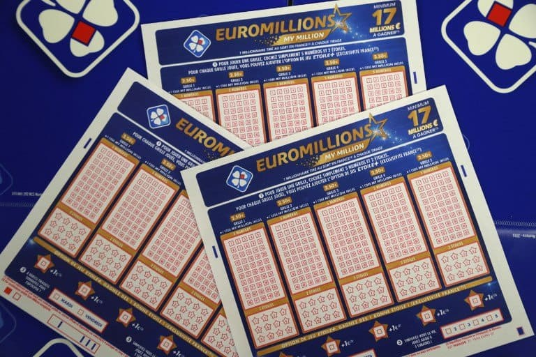 Tickets for Euromillions