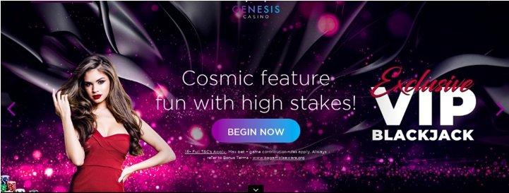 screenshot of mobile site at genesis