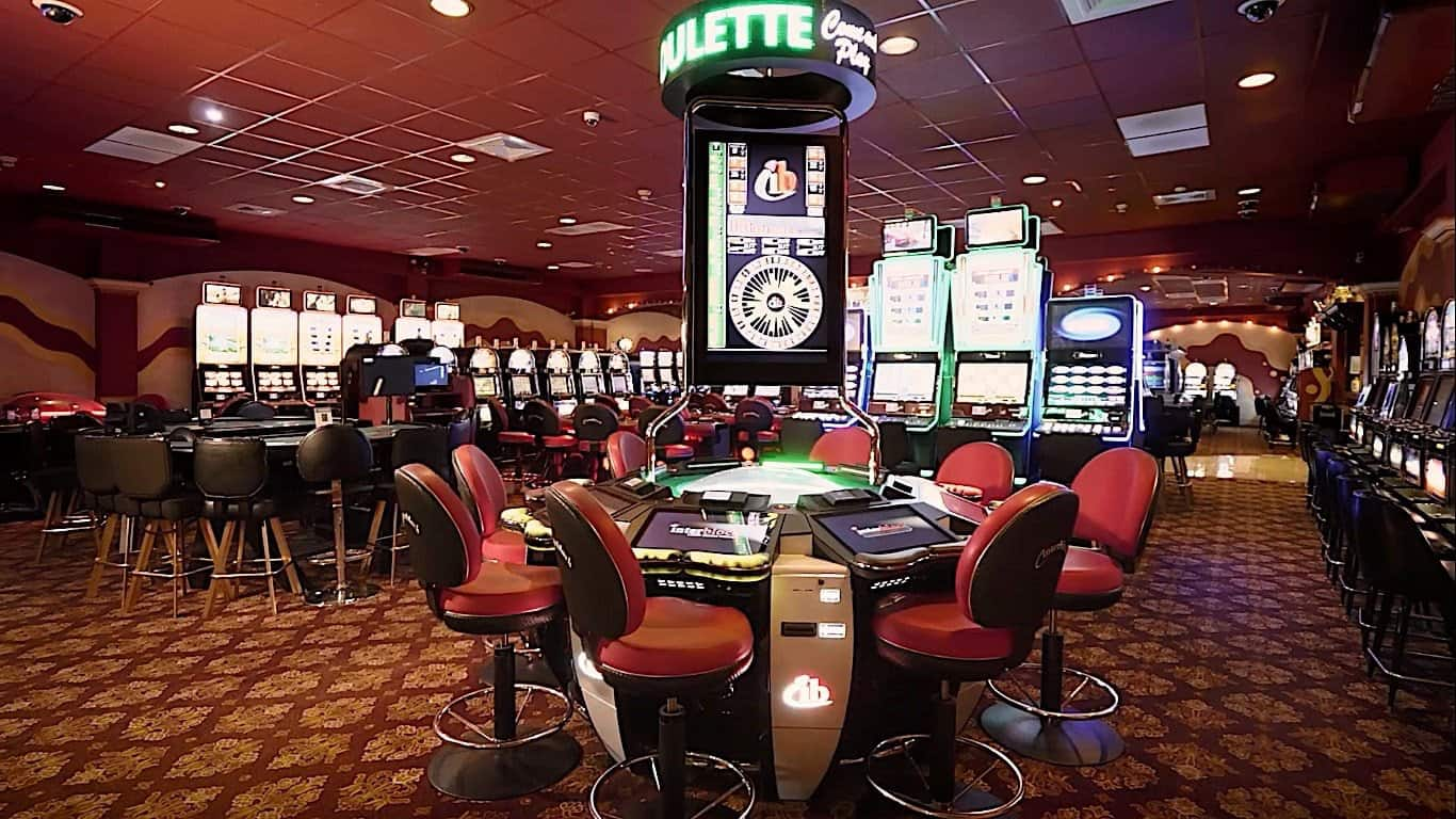 Image of a casino in Jamaica