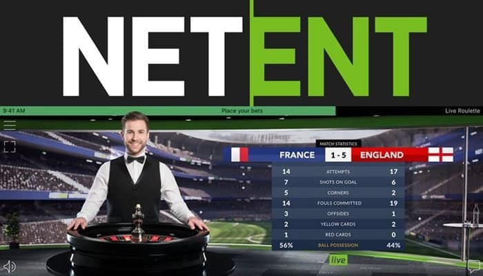 NetEnt adds the thrill of Football to Live Dealer Games