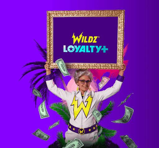 screenshot of loyalty at wildz Casino