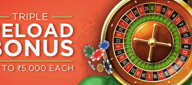 Triple Reload Bonuses at Bodog this December!