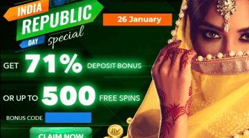 ShowLion offers bonus up to 71% on this 71st Republic Day