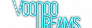 screenshot of voodoodreams casino logo