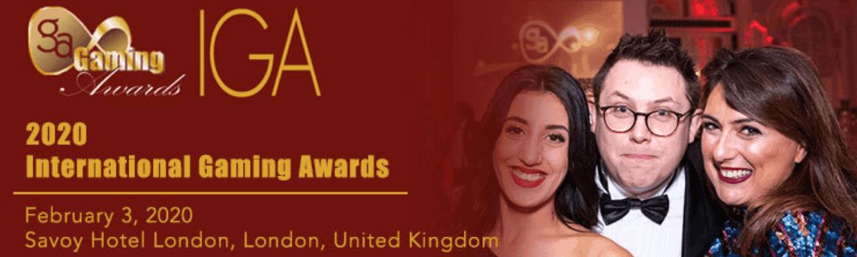 screenshot of International Gaming Awards