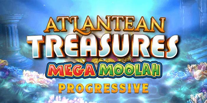 Screenshot of Atlantean Treasures: Mega Moolah slot game