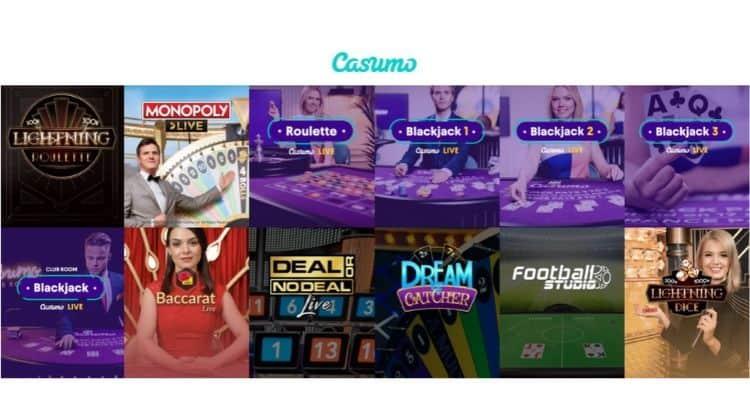 screenshot of casumo IGA win