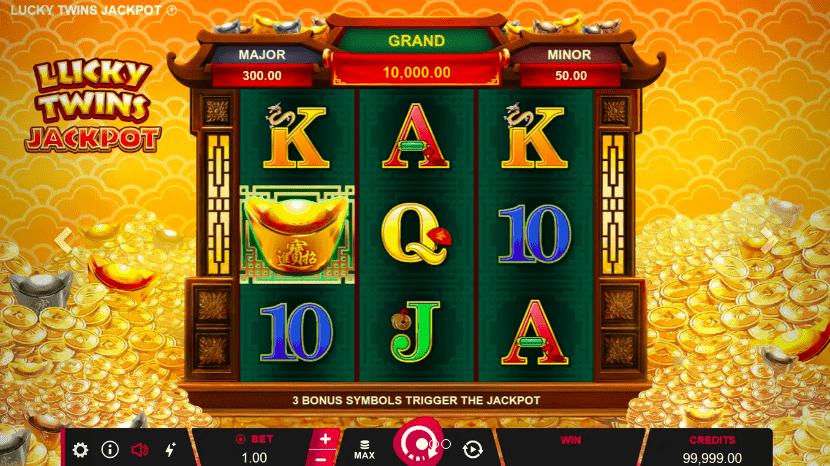 Screenshot of Lucky Twin Jackpot Slot game