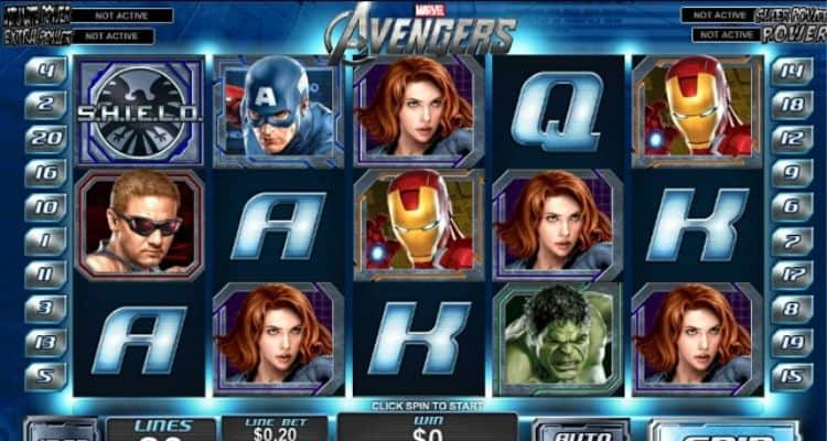 Screenshot of The Avengers