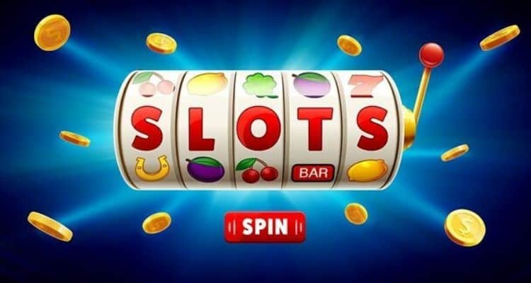 screenshot of online slots