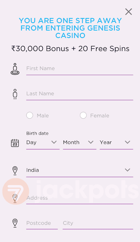 screenshot step 3 how to sign up