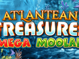 Logo for Atlantean Treasures Mega Moolah by Microgaming