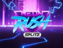 Logo for Neon Rush Splitz Slot by Yggdrasil