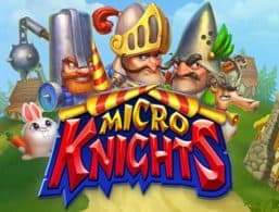 Logo for Micro Knights slot from Elk Studios
