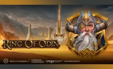 Logo for Ring of Odin slot by Play'N Go