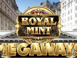 Royal Mint Megaways slot game logo