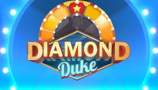 Diamond Duke slot logo by Quickspins