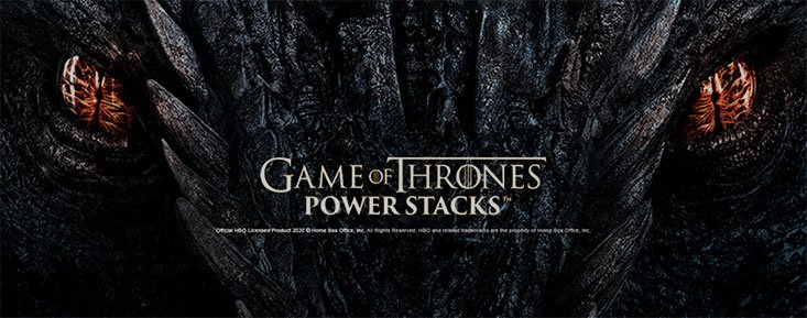 Logo for Game of Thrones Power Stacks slot by Microgaming