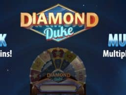 Logo for Diamond Duke Slot by Quickspin