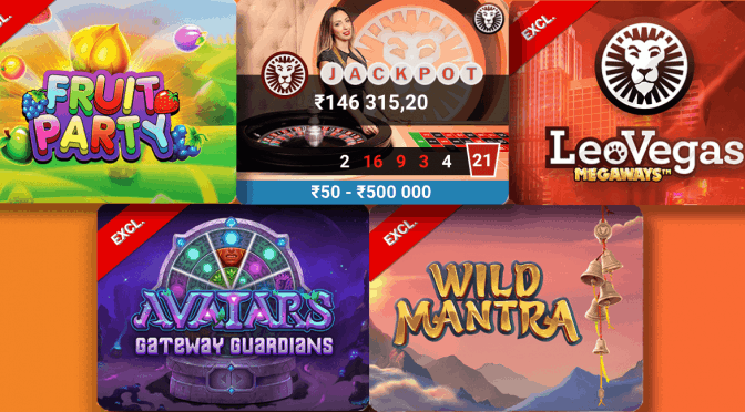 Wrap up May with Exclusive Games at LeoVegas Casino!