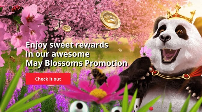 Rewards are in full Bloom at Royal Panda in May!