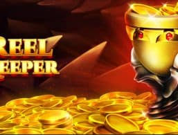 Logo for Reel Keeper slot by Red Tiger Gaming