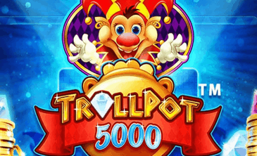 Logo for Trollpot 5000 slot by NetEnt