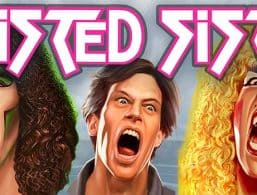 Logo for Twisted Sister slot by Play'N Go
