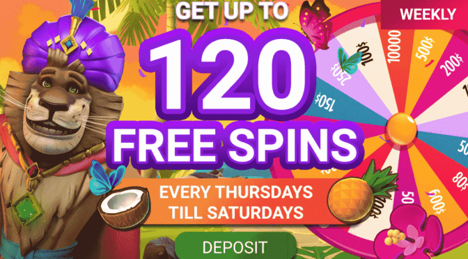 Claim Free Spins Every Week at JungleRaja Casino