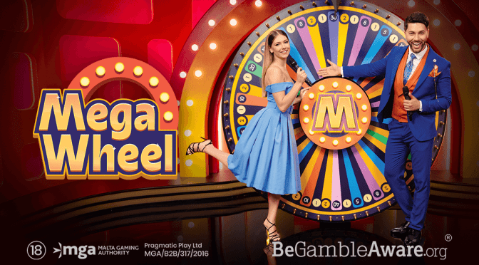 Mega Wheel – The latest live addition from Pragmatic Play!
