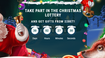 Win a Mercedes-Benz CLS this Christmas at 22Bet!