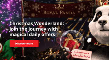 Daily offers in a Christmas Wonderland at Royal Panda!