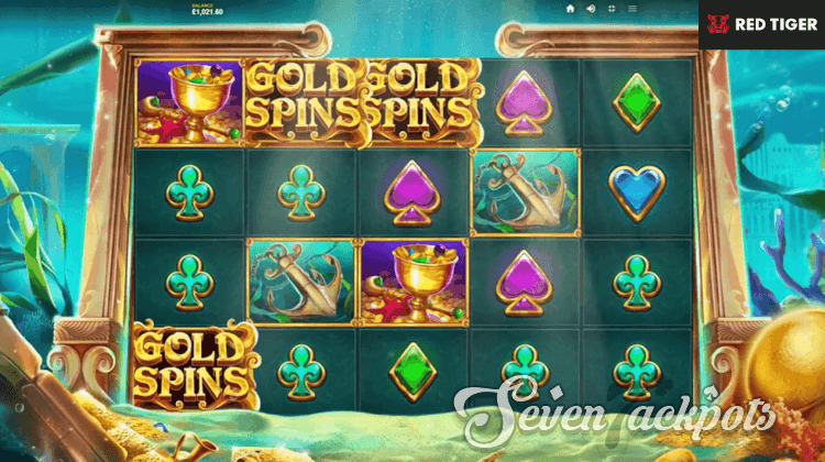 screenshot of Atlantis slot