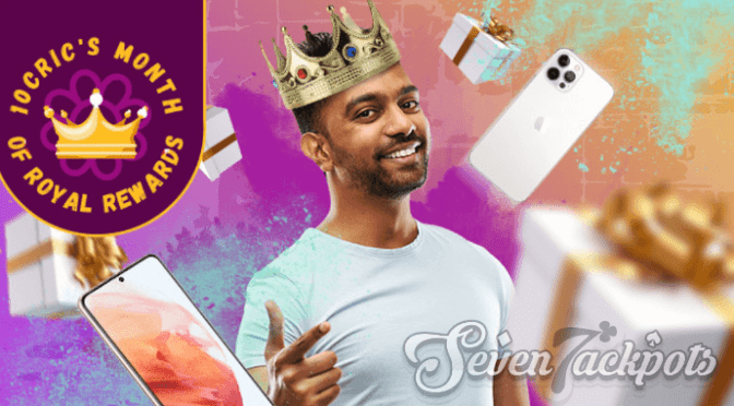 LAST CHANCE: Be King for a Day at 10CRIC this February!