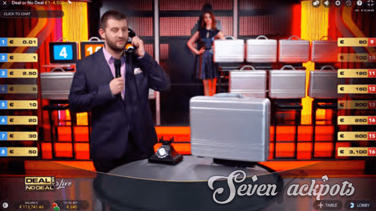 Deal or No Deal main game step