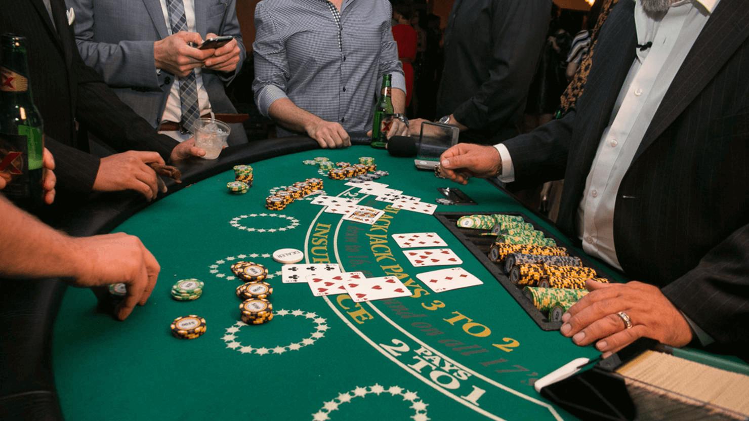 Online blackjack rules image